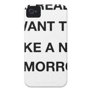 i already want to take a nap tomorrow iPhone 4 Case-Mate case
