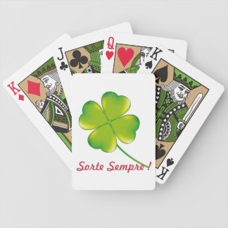 I always baralho Luck Bicycle Playing Cards