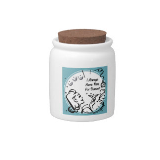 I Always Have Time For Bunco by Artinspired Candy Jars
