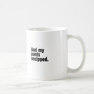 I always think with my eyes closed mug