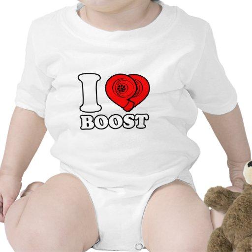 I alza del corazón trajes de bebé