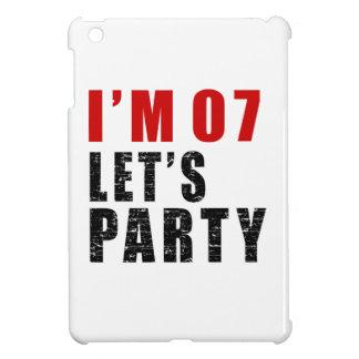 I Am 07 Let's Party iPad Mini Cases