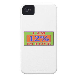 I am 12 % in love Case-Mate iPhone 4 case