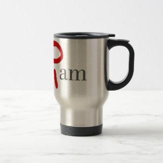 I am 15 oz stainless steel travel mug