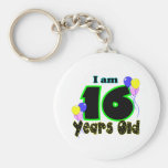 I Am 16 Years Old Key Chain