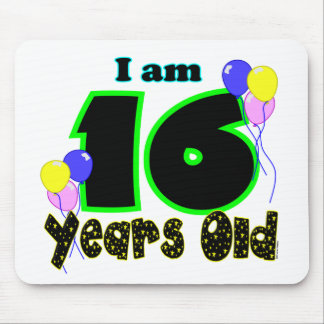 I Am 16 Years Old Mousepad