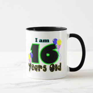 I Am 16 Years Old Mug
