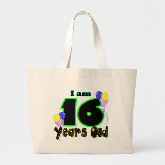 I Am 16 Years Old Tote Bag