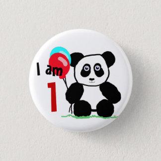 I am 1 anniversary button