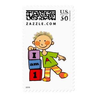 I am 1 postage