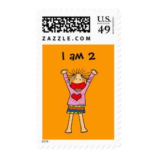 I am 2 postage