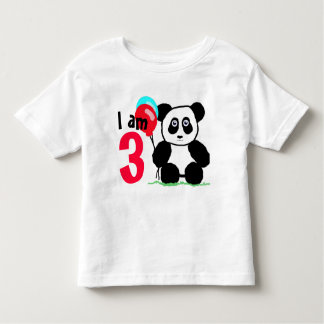 I am 3 anniversary toddler t-shirt
