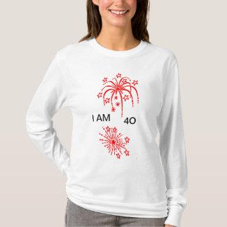 """I AM """"40"""" TEE"""