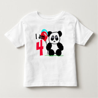 I am 4 anniversary toddler t-shirt