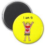 I am 5 magnets