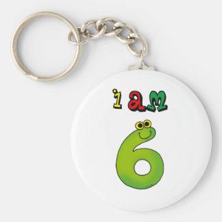 I am 6 key chain