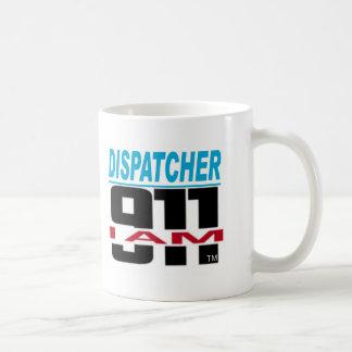 I Am 911 logo stuff for Fire, EMS, Dispatch! Coffee Mug