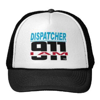 I Am 911 logo stuff for Fire, EMS, Dispatch! Trucker Hat