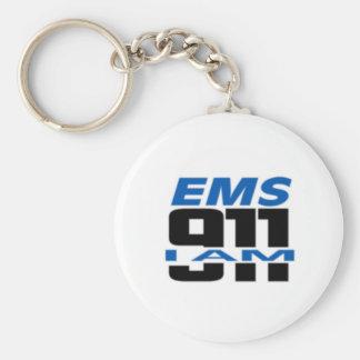 I Am 911 logo stuff for Fire, EMS, Dispatch! Keychain