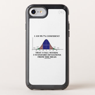 I Am 99.7% Confident Fall Within 3 Standard Dev Speck iPhone Case