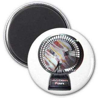 I Am A Bacon Fan 2 Inch Round Magnet