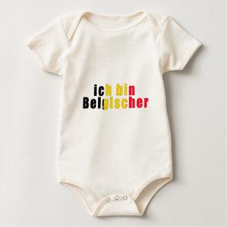 I am a Belgian Baby Bodysuit