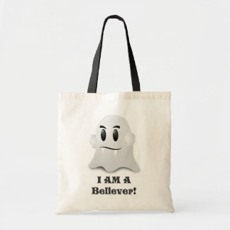 I Am A Believer In Ghosts Budget Tote Bag