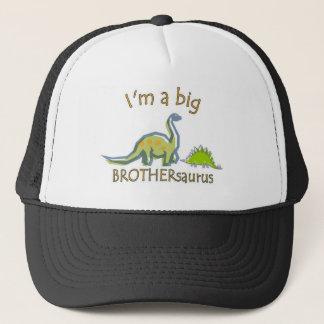 I am a big brothersaurus trucker hat