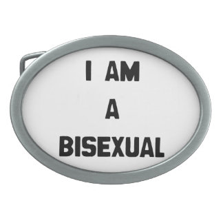 I AM A BISEXUAL BELT BUCKLE