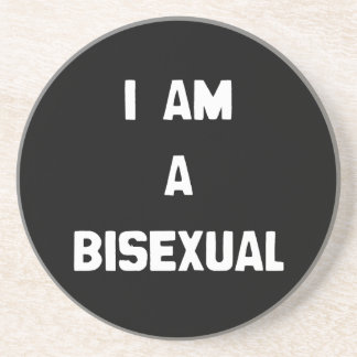 I AM A BISEXUAL BEVERAGE COASTERS