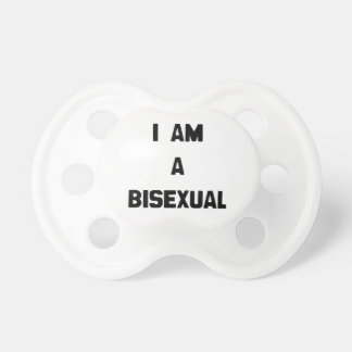 I AM A BISEXUAL BooginHead PACIFIER
