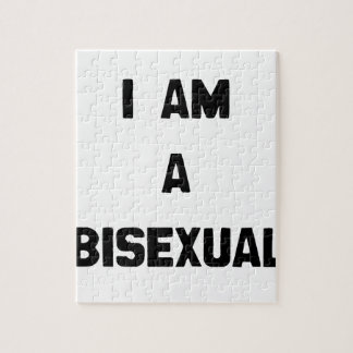 I AM A BISEXUAL JIGSAW PUZZLES