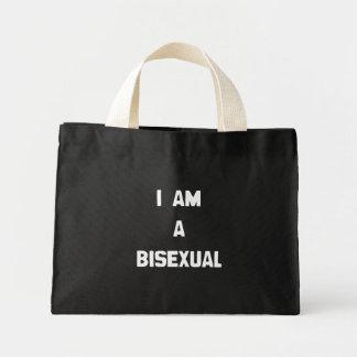 I AM A BISEXUAL MINI TOTE BAG