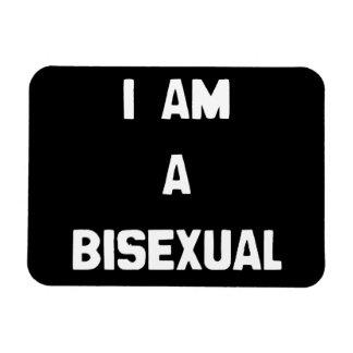 I AM A BISEXUAL RECTANGULAR PHOTO MAGNET