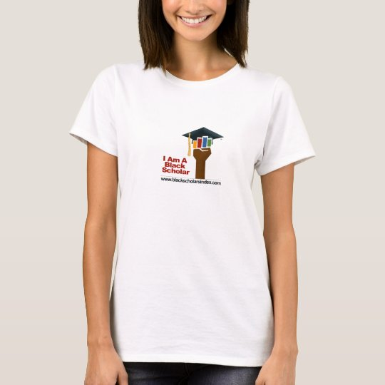 I Am A Black Scholar - T-Shirt (Women)