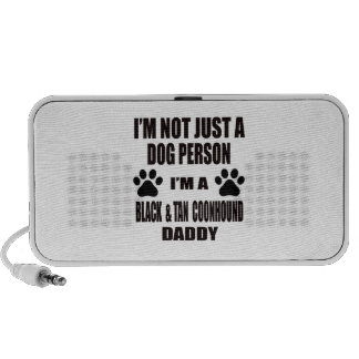 I am a Black & Tan Coonhound Daddy Mini Speakers