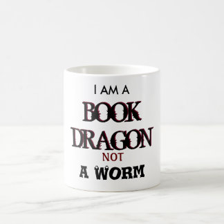 I Am A Book Dragon Not A Warm mug