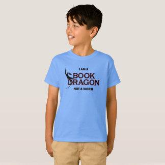 I am a Book Dragon, not a Worm T-Shirt