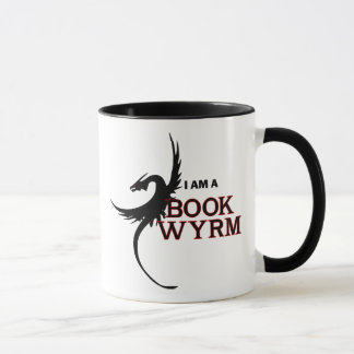 I am a Book Wyrm (printed both sides) Mug