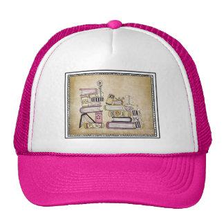 i am a bookworm trucker hat