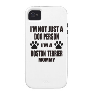I am a Boston Terrier Mommy Case-Mate iPhone 4 Cover