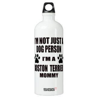 I am a Boston Terrier Mommy SIGG Traveler 1.0L Water Bottle