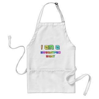 I Am A Breastfed Baby Adult Apron
