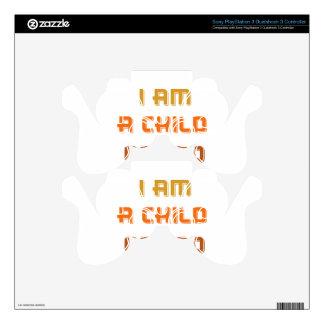 I am a child of god PS3 controller decals