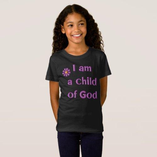 I Am a Child of God's Kids' T-Shirt