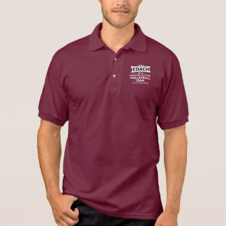 I AM A COACH POLO SHIRT