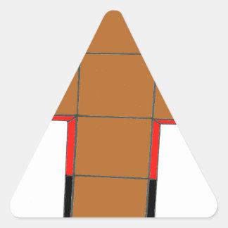 I AM a CUBE.png FUTURE Triangle Sticker