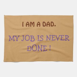 """I AM A DAD"" Kitchen Towel 16"" x 24"""