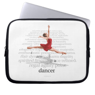 I Am A Dancer Laptop Sleeve