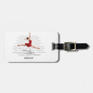 I Am A Dancer Tags For Luggage